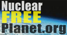 Nuclear Free Planet logo