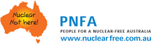 People for a Nuclear-Free Australia logo