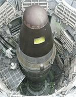 Rocket in silo