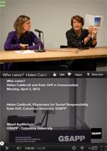 Helen Caldicott and Kate Orff